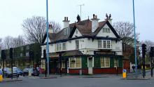 Hounslow, Windsor Castle Public House on Bath Road, Middlesex © Thomas Nugent